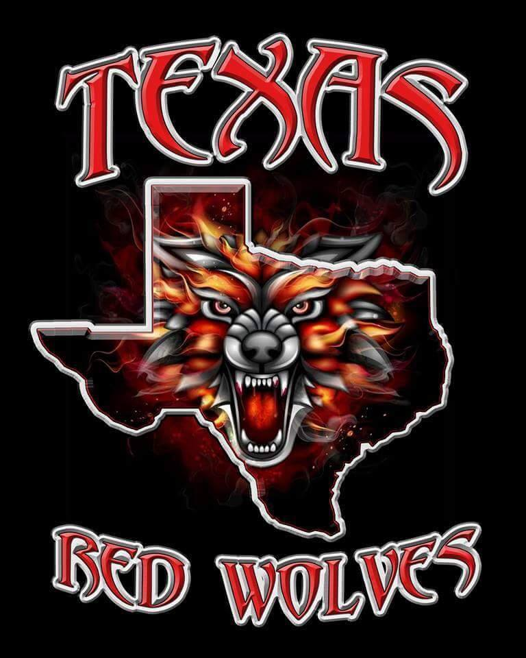 Texas red wolves